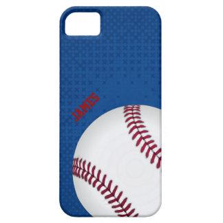 Caso de encargo del iPhone 5 del béisbol Funda Para iPhone SE/5/5s
