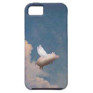 caso de encargo del iPhone 5 del cerdo del vuelo iPhone 5 Case-Mate Coberturas
