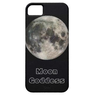 Caso de encargo del iPhone 5 del texto de la Luna iPhone 5 Carcasas