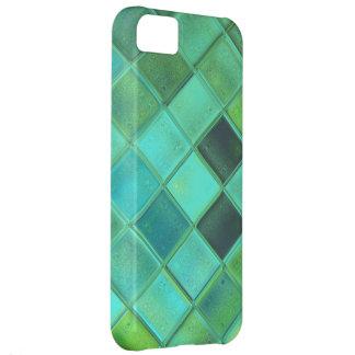 Caso de encargo del iPhone 5 en Seaglass suave Arg Funda Para iPhone 5C