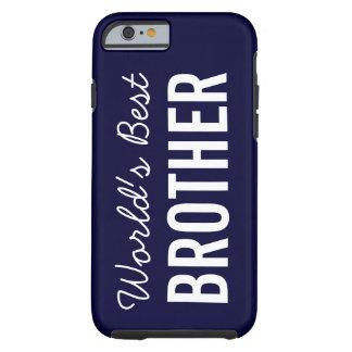 Caso de encargo del iPhone 6 de Brother del mundo Funda De iPhone 6 Tough