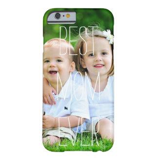 Caso de encargo del iPhone 6 del día de madre de Funda Barely There iPhone 6