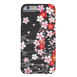 Caso de encargo del iPhone 6 del modelo del kimono Funda Barely There iPhone 6