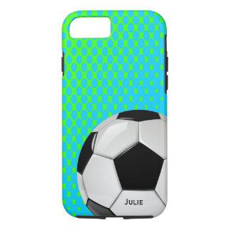 Caso de encargo del iPhone 7 del balón de fútbol Funda iPhone 7