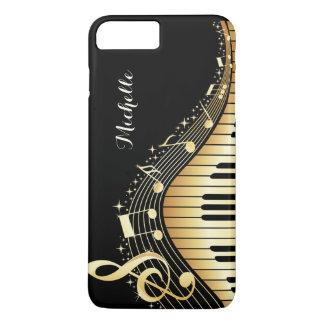Caso de encargo del iPhone de las llaves del piano Funda iPhone 7 Plus