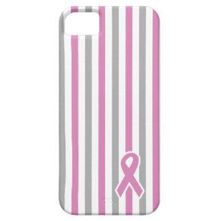 Caso de encargo del iPhone de las rayas rosadas y iPhone 5 Carcasa