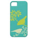Caso de encargo del iPhone de los pájaros colorido iPhone 5 Case-Mate Cárcasas