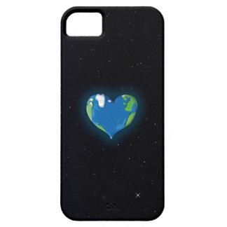 caso de encargo del iphone del corazón de la funda para iPhone SE/5/5s