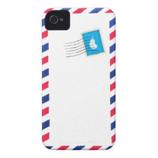caso de encargo del iphone del correo aéreo Case-Mate iPhone 4 carcasa