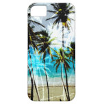 Caso de encargo del iPhone del océano tropical de iPhone 5 Case-Mate Cárcasa