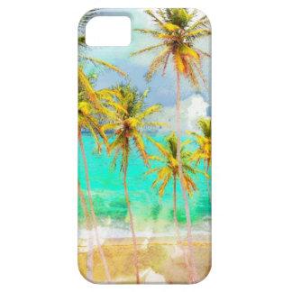 Caso de encargo del iPhone del océano tropical de Funda Para iPhone SE/5/5s