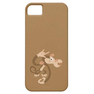 Caso de encargo del mono del ASL te amo Funda Para iPhone SE/5/5s