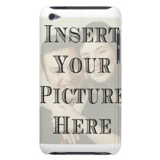 Caso de encargo del tacto de iPod con su imagen iPod Case-Mate Cárcasa