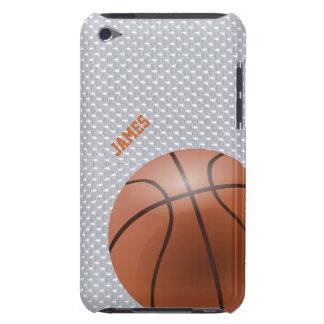 Caso de encargo del tacto de iPod del baloncesto Carcasa Para iPod