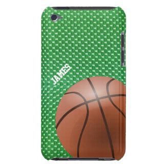 Caso de encargo del tacto de iPod del baloncesto Cubierta Para iPod De Barely There