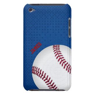 Caso de encargo del tacto de iPod del béisbol Funda Case-Mate Para iPod