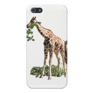 Caso de espec. de la jirafa para el iPhone 4 iPhone 5 Cárcasa
