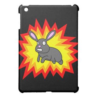 Caso de estallido del iPad del conejo