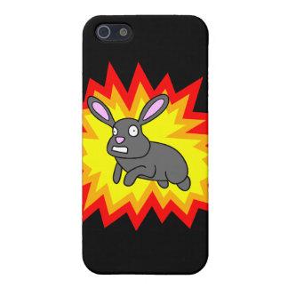 Caso de estallido del iPhone 4 del conejo iPhone 5 Cárcasa