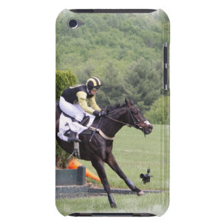 Caso de Eventing iTouch de los caballos iPod Case-Mate Funda