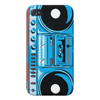 Caso de EYEPhone 4 del equipo estéreo portátil iPhone 4 Protector