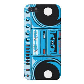 Caso de EYEPhone 4 del equipo estéreo portátil iPhone 5 Cárcasas