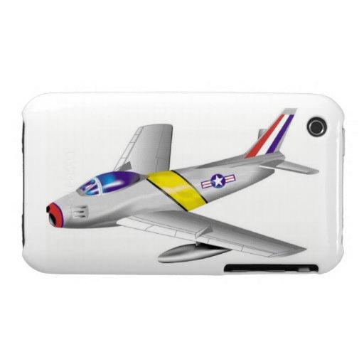 Caso de F-86 SABRE iPhone 3 Case-Mate Coberturas