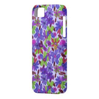 Caso de Flowermania IPhone 5 iPhone 5 Funda