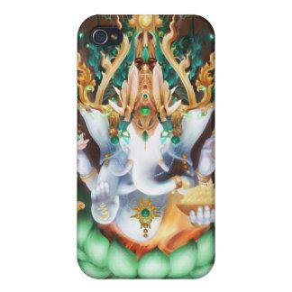 Caso de Galactik Ganesh Iphone iPhone 4/4S Carcasa