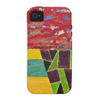 """Caso de """"Geometrique"""" IPhone Case-Mate iPhone 4 Funda"""