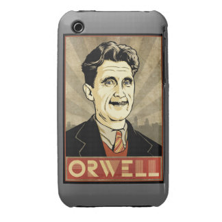 Caso de George Orwell iPhone 3 Case-Mate Protector