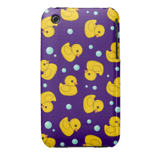 Caso de goma del iphone 3 del modelo de Duckies Funda Bareyly There Para iPhone 3 De Case-Mate