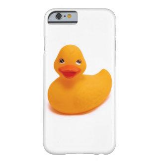 Caso de goma del iPhone 6 del pato Funda De iPhone 6 Barely There