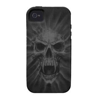 Caso de griterío del iPhone 4 del cráneo del vampi iPhone 4 Carcasas