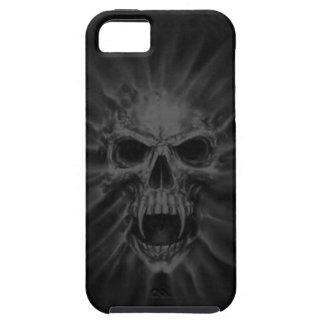 Caso de griterío del iPhone 5 del cráneo del vampi iPhone 5 Case-Mate Cárcasas