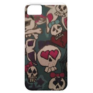 Caso de Gurlz IPhone 5 del cráneo iPhone 5 Fundas
