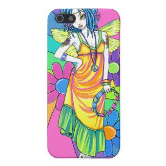 Caso de hadas de IPhone 4 del niño de flor del arc iPhone 5 Cárcasas