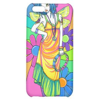 Caso de hadas de IPhone 4 del niño de flor del arc