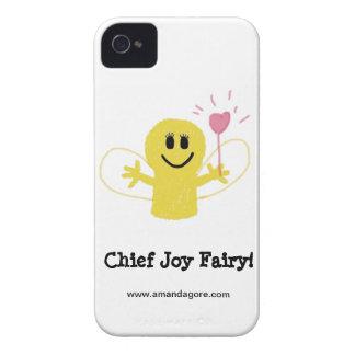 Caso de hadas de la principal alegría Case-Mate iPhone 4 cobertura