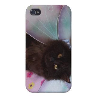 caso de hadas del ipad del ala azul iPhone 4 carcasa