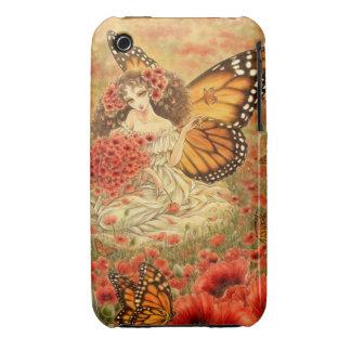 Caso de hadas del iPhone 3G/3GS de la mariposa de Funda Para iPhone 3 De Case-Mate