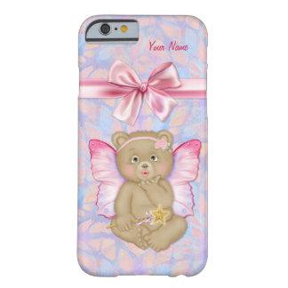 Caso de hadas del iPhone 6 de la fantasía del oso Funda Para iPhone 6 Barely There