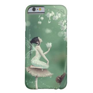 Caso de hadas del iPhone 6 de la flor del lirio de Funda De iPhone 6 Slim