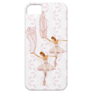 caso de hadas del iPhone de la bailarina Funda Para iPhone 5 Barely There