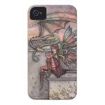 Caso de hadas del iPhone del arte de la fantasía d iPhone 4 Case-Mate Protectores