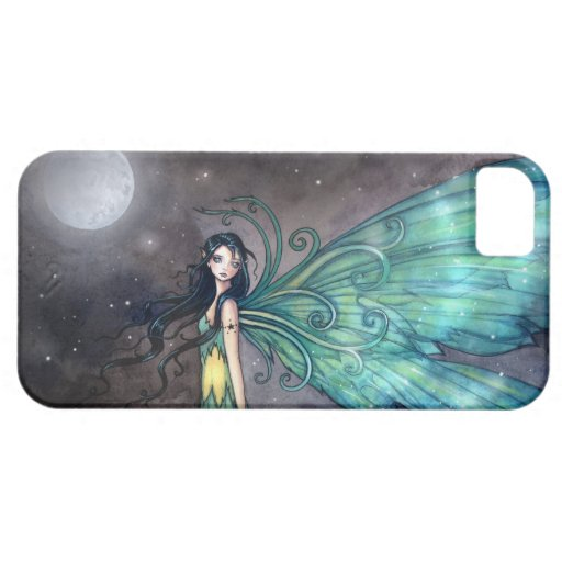 Caso de hadas del iPhone del arte de la fantasía iPhone 5 Fundas