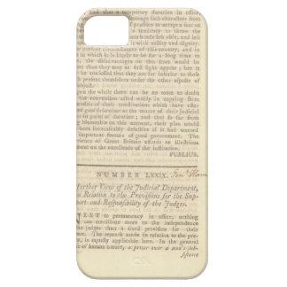 caso de Hamilton del iPhone 6 iPhone 5 Funda