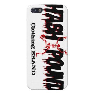 Caso de Hash#Pound del iPhone 5 de HP iPhone 5 Carcasas