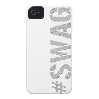 Caso de Hashtag del #SWAG iPhone 4 Protectores