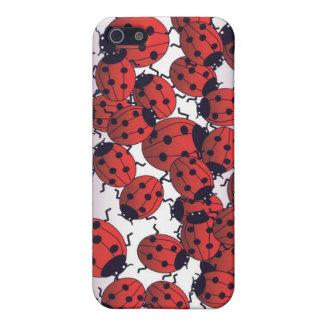 Caso de I-pone de la mariquita iPhone 5 Carcasas